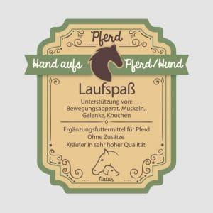 """Arthrosekräuter für Pferde """"Laufspaß"""""""