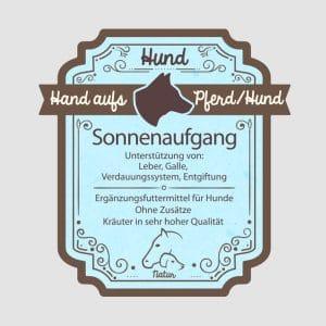 """Darmkräuter für Hunde """"Sonnenaufgang"""""""