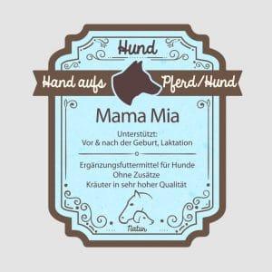 """Hitzekräuter für Hunde """"Mama Mia"""""""