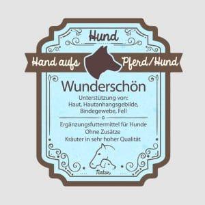"""Hautkräuter für Hunde """"Wunderschön"""""""