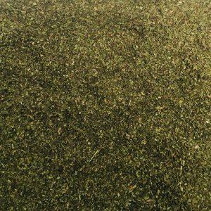 Pfefferminze Blätter Feinschnitt – getrocknet