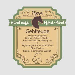 """Sehnenkräuter für Pferde """"Gehfreude"""""""