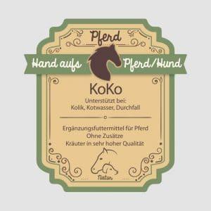 """Kolikkräuter für Pferde """"KoKo"""""""