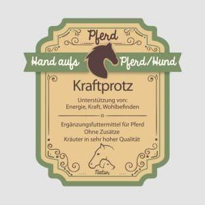 "Muskelkräuter für Pferde ""Kraftprotz"""