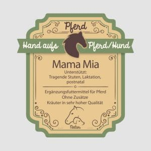 "Rossekräuter für Pferde ""Mama Mia"""