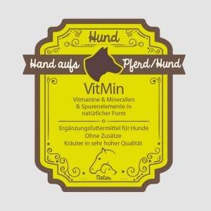 "Mineralien für Hunde ""VitMin"""