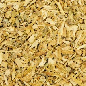 Weidenrinde geschnitten – getrocknet