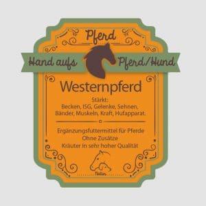 Westernkräuter Westernpferd